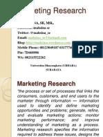 Marketing Research Ch1 Mahsina