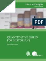 Freeman, Quantitative Skills for Historians