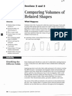 Comparing Volumes of Related Shapes