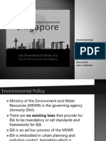 Environmental Impact Assessment in Singapore Jamadrones Eva 2014-09-16