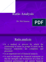 Ratio Analysis- Dr. Niti