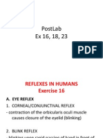 Reflexes, Modalities, Physiology of Senses