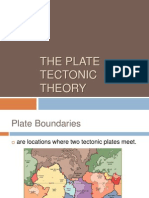 Geology- Plate boundaries