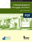 20287250 a Financial Analysis of Consumer Mortgage Decisions