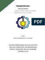CRITICAL REVIEW TRANSPORTASI I.docx