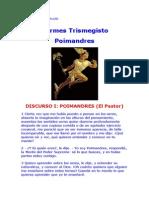 Hermes Trismegisto - Discurso I - Poimandres.docx