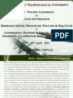 Good Governance Brochure 2013