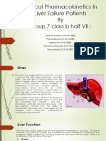 Clinical Pharmacokinetics in Liver Failure Patients Sendd