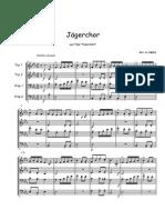 Jaegerchor - Brass Quartet