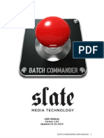 Batch Commander 1.0 User Manual
