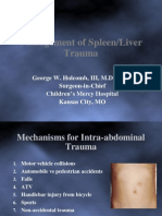 7 Liver - Spleen Trauma.ppt