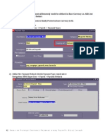 Demo on Foreign Currency Payment using Payroll