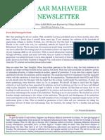[13] AAR Mahaveer Newsletter January 2014