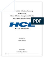 HCL Ratio Analysis