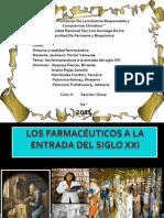 LOS FARMACÉUTICOS A LA ENTRADA DEL SIGLO XXI.pptx