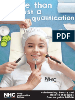 Hairdressing and Beauty Therapy - Course Prospectus