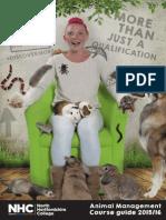 Animal Management - Course Prospectus