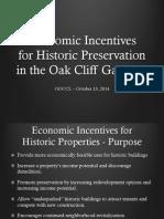 Historic Incentives Gateway