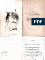 1842 Memoir of India and Avghanistan by Josiah Harlan s