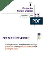 Pengantar Sistem Operasi Part 2