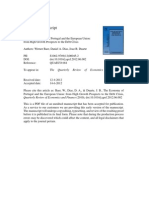 The Economy of Portugal and the European Union.pdf