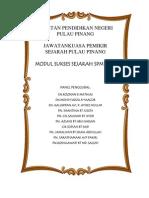 Model Sukses Sejarah SPM 2014 JPN Pulau Pinang