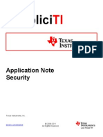 Application Note on SimpliciTI Security.pdf