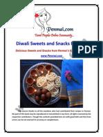 Penmai Diwali Sweets Snacks Recipes Oct 2013