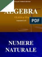 ALGEBRA CLASA a VI-a.ppt