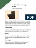 La definición de fuentes de energía convencionales.doc
