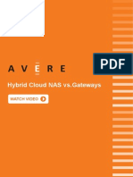 Mitigate cloud gateways issues with Avere's Hybrid Cloud NAS