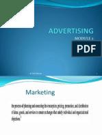 Advertising Mod. 2
