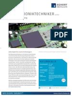 Datenblatt Mechatroniktechniker
