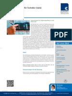 Datenblatt Fachhochschulreife für Techniker