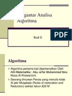 Pengantar Analisa Algoritma_budi