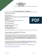 UT Dallas Syllabus for aim4380.081.10s taught by Arthur Agulnek (axa022000)