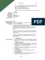 UT Dallas Syllabus for ba4v95.501.10s taught by Hans-joachim Adler (hxa026000)