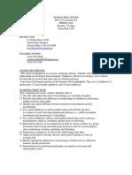 UT Dallas Syllabus for psy4333.501.10s taught by Edward Davis (ecd022000)