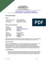 UT Dallas Syllabus for aim6305.0t1.10s taught by Mark Anderson (andersmc, suryaj)