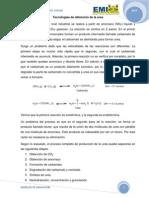 Tecnologías de obtención de la urea Y SYNGAS.docx