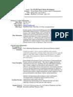 UT Dallas Syllabus for ba3372.501.10s taught by George Barnes (gbarnes)