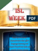 ELT METHODOLOGY learner characteristics
