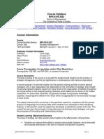UT Dallas Syllabus for bps6310.0g2.10s taught by Tevfik Dalgic (tdalgic)