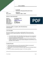 UT Dallas Syllabus for ba3351.501.10s taught by Michael Savoie (msavoie)