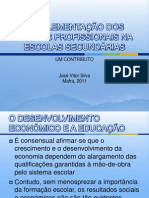 A IMPLEMENTAÇÃO DOS CURSOS PROFISSIONAIS NA ESCOLAS SECUNDÁRIAS.pptx