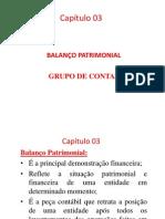Capítulo 03 – Balanço Patrimonial - Grupo de Contas.pptx