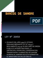 Banco de Sangre LEY.ppt