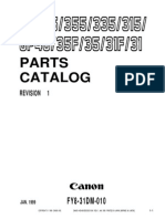 Canon GP_315_335_355 Parts Manual