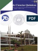 VOL 1 NUM 8 AÑO 2010 - REVISTA FAC CIENCIAS QUIMICAS - PARAGUAY - PORTALGUARANI
