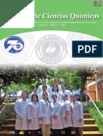 VOL 6 NUM 2 AÑO 2008 - REVISTA FAC CIENCIAS QUIMICAS - PARAGUAY - PORTALGUARANI